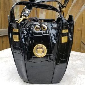 VERSACE Icon Vintage Bucket Drawstring handbag